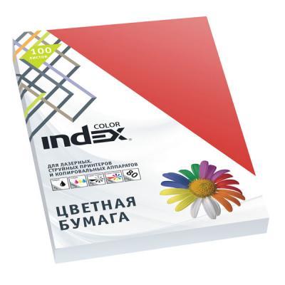 Цветная бумага Index Color A4 100 листов IC28/100 цветная бумага index color a4 100 листов icmixpastel 4х25 100