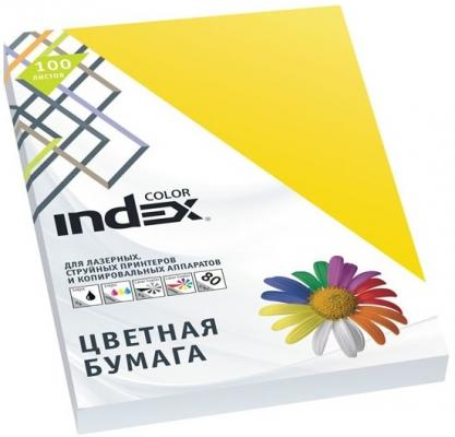 Цветная бумага Index Color IC56/100 A4 100 листов фото