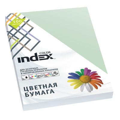 Цветная бумага Index Color A4 100 листов IC61/100 блокнот index in0101 a460 a4 60 листов в ассортименте