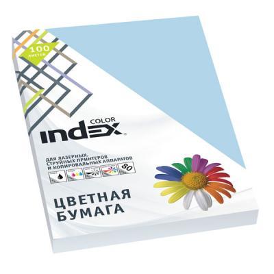 Цветная бумага Index Color A4 100 листов IC72/100