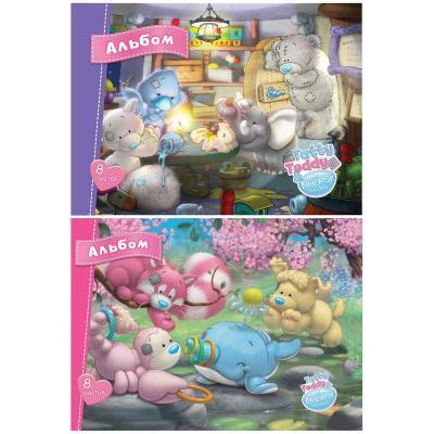 Альбом для рисования Action! TATTY TEDDY A4 8 листов BNF-AA-8 BNF-AA-8 cosplay tokyo ghoul ken kaneki 22cm 8 7 boxed pvc action figures toys model gk garage kits