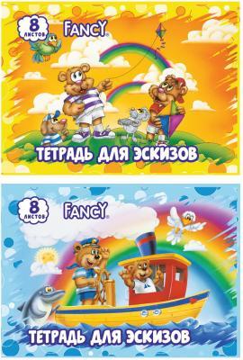Тетрадь для экскизов Action! FANCY A4 8 листов FA-8/1 FA-8/1