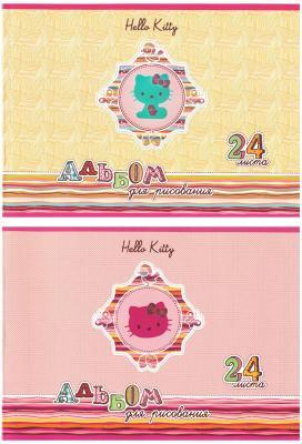 Альбом для рисования Action! Hello Kitty A4 24 листа HKO-AA-24-2 в ассортименте HKO-AA-24-2 альбом для рисования хатбер величественная природа a4 32 листа 028079 32а4в вп в ассортименте
