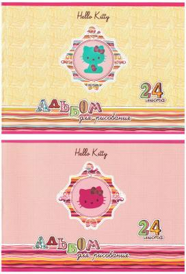 Альбом для рисования Action! Hello Kitty A4 24 листа HKO-AA-24-2 в ассортименте HKO-AA-24-2 альбом для рисования action dragons a4 24 листа dr aa 24 в ассортименте dr aa 24