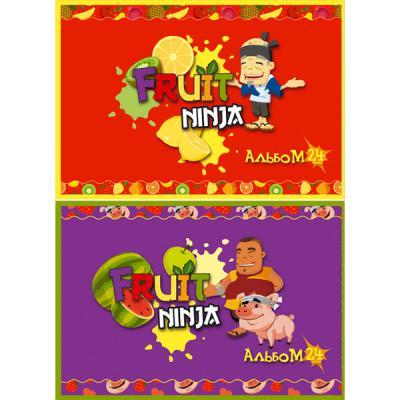 Альбом для рисования Action! FRUIT NINJA A4 24 листа FN-AA-24 FN-AA-24
