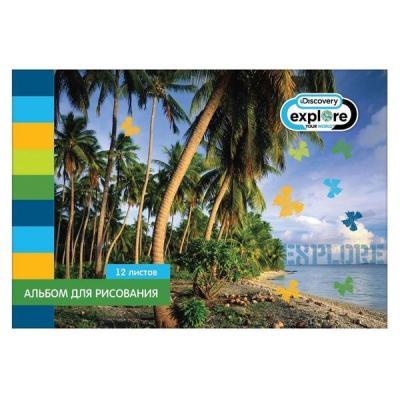 Альбом для рисования Action! DISCOVERY A4 12 листов DV-AA-12 в ассортименте DV-AA-12