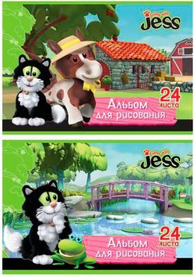 Альбом для рисования Action! GUESS with JESS A4 24 листов GJ-AA-24 GJ-AA-24