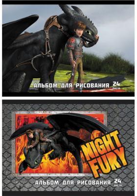 Альбом для рисования Action! Dragons A4 24 листа DR-AA-24 в ассортименте DR-AA-24