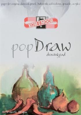 Папка для рисования Koh-i-Noor POP DRAW A4 30 листов 9920005 9920005 папка для акварели koh i noor pop aquarell a3 10 листов 9920003 9920003