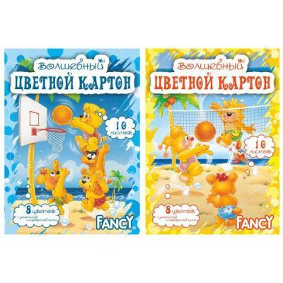 Набор цветного картона Action! A4 10 листов FCC-10/10 набор цветной бумаги и картона artspace a4 16 листов нкб10 16 4455 209668