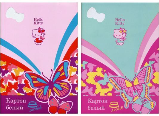 Набор белого картона Action! HELLO KITTY A4 8 листов HKO-AWP-8/8 в ассортименте