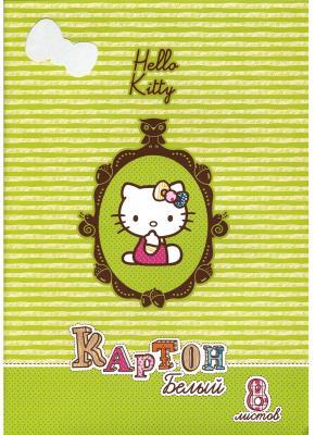 Картинка для Набор белого картона Action! HELLO KITTY A4 8 листов HKO-AWP-8/8-2 в ассортименте