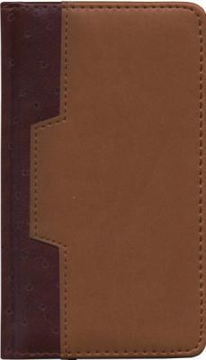 Еженедельник недатированный Index Deser A6 искусственная кожа IWN105/A6/BR