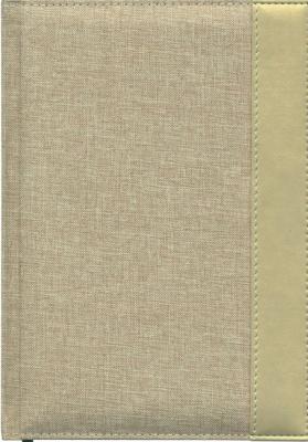 Ежедневник недатированный Index Canvas A5 искусственная кожа IDN107/A5/BE