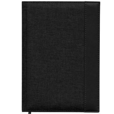 Ежедневник недатированный Index Canvas A5 искусственная кожа IDN107/A5/BK