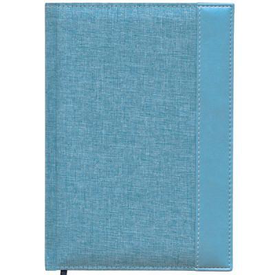 Ежедневник недатированный Index Canvas A5 искусственная кожа IDN107/A5/BU