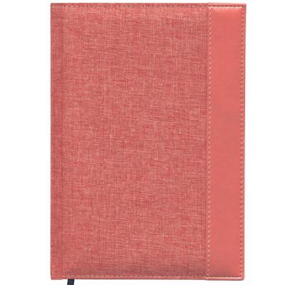Ежедневник недатированный Index Canvas A5 искусственная кожа IDN107/A5/RD