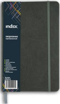 Ежедневник недатированный Index IDN004/E A5+ бумвинил
