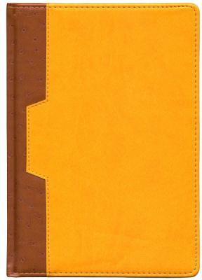 Ежедневник недатированный Index Desert A5 искусственная кожа IDN105/A5/YE цена