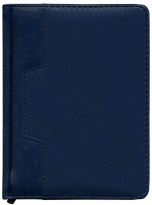 Ежедневник Desert недатированный, А6, кожзам, синий IDN105/A6/BU