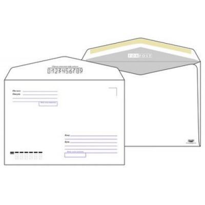 Конверт C5 ЭМИКА 2000 FORPOS 1 шт 80 г/кв.м белый 2531/Т 2531/Т berlingo конверт c5 с подсказом 25 шт