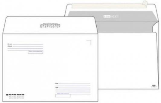 Конверт C5 ЭМИКА 2000 FORPOST 25 шт 80 г/кв.м белый 2807/Т 2807/Т