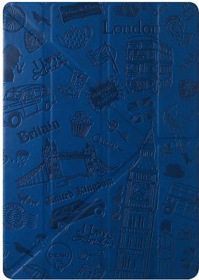 """Чехол-книжка Ozaki O!coat Travel из пластика и кожзаменителя для iPad Pro 9.7"""" и iPad Air 2. Дизайн: Лондон."""