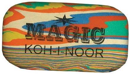 Ластик Koh-i-Noor MAGIC 1 шт прямоугольный 6516/48 6516/48