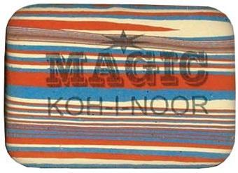 Ластик Koh-i-Noor MAGIC 1 шт прямоугольный 6516/30 6516/30