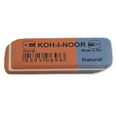 Ластик Koh-i-Noor BLUE STAR 1 шт прямоугольный 6521/40 6521/40 ластик koh i noor bluestar 6521 40