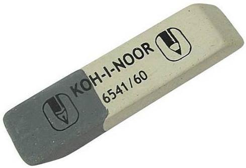 Ластик Koh-i-Noor SUNPEARL 1 шт прямоугольный 6541/60-56 6541/60-56
