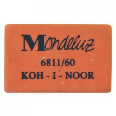 Ластик Koh-i-Noor MONDELUZ 1 шт прямоугольный 6811/60 6811/60