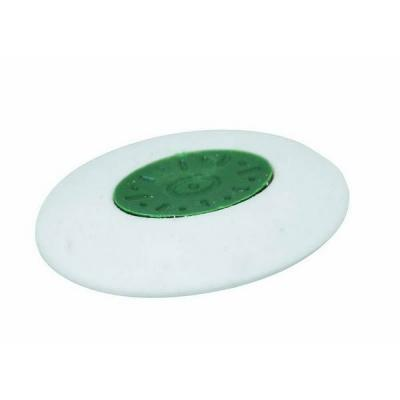 Фото - Ластик овальный с держателем, синтетический каучук, белый, 25х30 мм IRE330 ластик прямоугольный синтетич каучук белый 39х19х10 мм index пакет