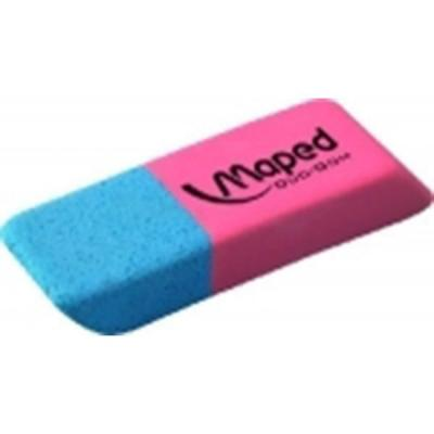 Ластик сред, DUO-GOM каучук, красно-синий maped gom stick universal