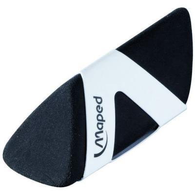 Ластик BLACK PYRAMIDE, треугольной формы, черный, в футляре 119611