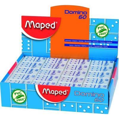 Ластик Maped DOMINO 1 шт прямоугольный