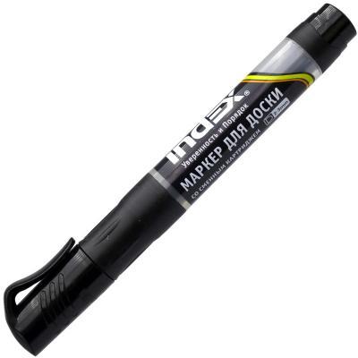 Маркер для доски Index IMWR100/BK 3 мм черный сменные чернила IMWR100/BK
