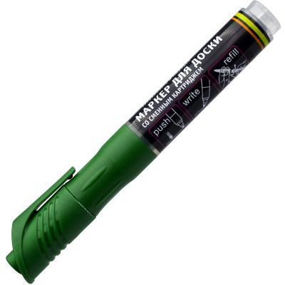 Маркер для доски Index IMWR101/GN 3 мм зеленый сменные чернила IMWR101/GN маркер перманентный index imp575 gn зеленый imp575 gn