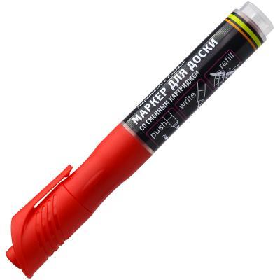 Маркер для доски Index IMWR101/RD 3 мм красный сменные чернила IMWR101/RD маркер для доски index красный черный imw101 bk rd