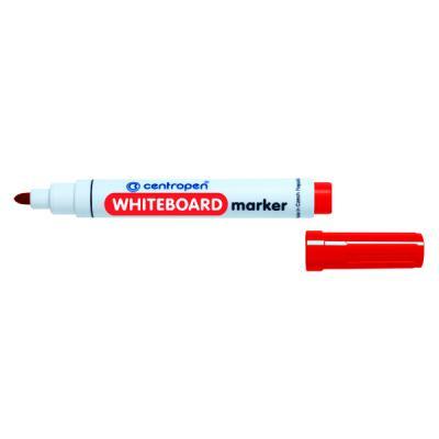Маркер для доски Centropen 8559/1К 4 мм красный маркер флуоресцентный centropen 8722 1к красный 8722 1к