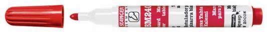 Маркер для доски Stanger BM240 3 мм красный 321031 321031 маркер для доски stanger bm240 3 мм 4 шт разноцветный 321002