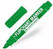 Маркер Centropen FLIPCHART 4.6 мм зеленый 8560/1З 8560/1З