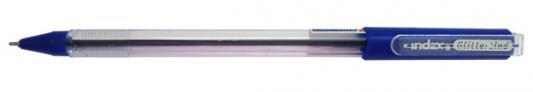 Шариковая ручка Index Glittertind синий 0.7 мм IBP502/BU