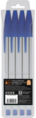 Набор шариковых ручек SPONSOR SBP601/S4-1 4 шт синий 0.7 мм SBP601/S4-1 набор шариковых ручек автоматическая