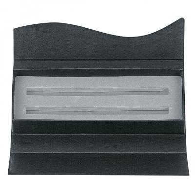"""Футляр картонный """"Wave"""" для двух ручек, матово-черный ET156/2"""