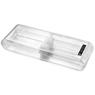 Футляр для двух ручек, прозрачный ET171