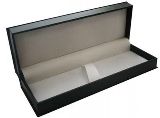 Футляр для ручки, подарочный, прямоугольный, 188х65х34 мм, черный BX-415/1