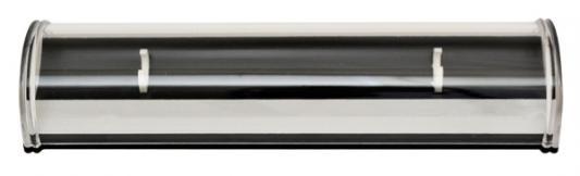 Футляр для одной ручки, с полукруглой прозрачной крышкой, 163х44х25 мм, пластиковый BX-130