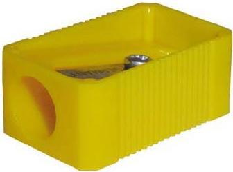 Точилка Eisen 109.01.999 пластик желтый прямоугольная форма