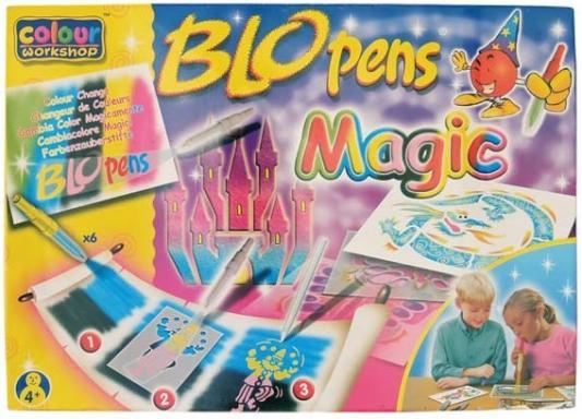 Набор воздушных фломастеров Centropen BloPens Magic 20 предметов разноцветный 1549/10 (JP962)